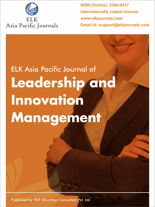 ELK's International Journal of Leadership Studies