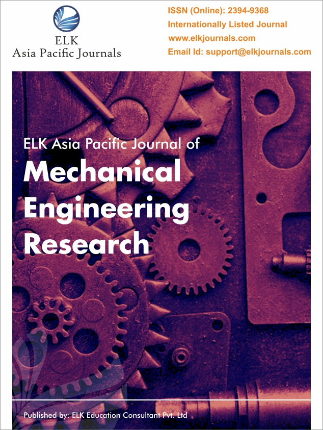 ELK's Indian Journal of Mechanical Engineering